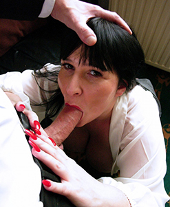 Andi XXX is perfectly cast as the shop owner. Really gets mad then really gets into her rogering. There