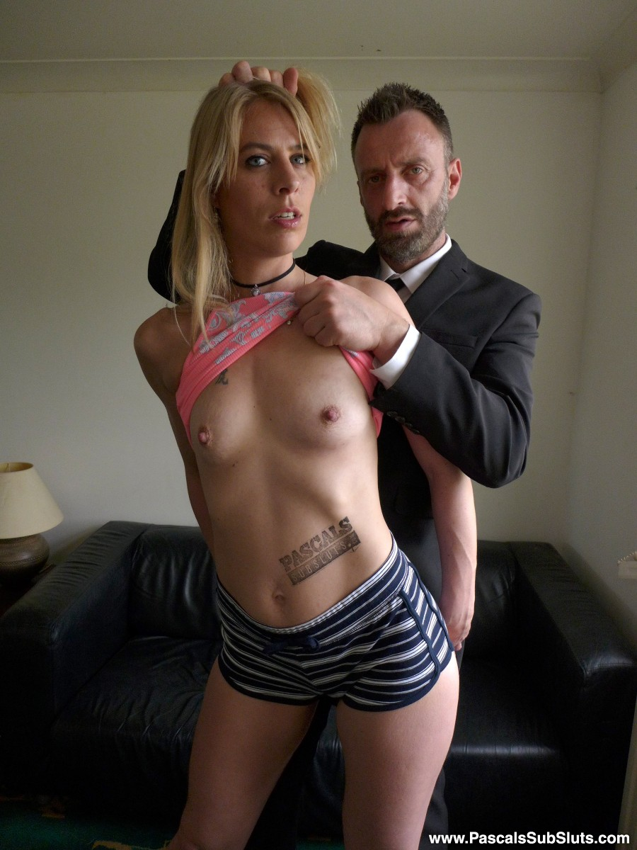 When Jentina visited SubSlut Towers in January of this year, the 30-year-old Dutch mum had fuck all experience getting roughed up, spanked hard, etc etc. Total newbie and totally loved it. So now she