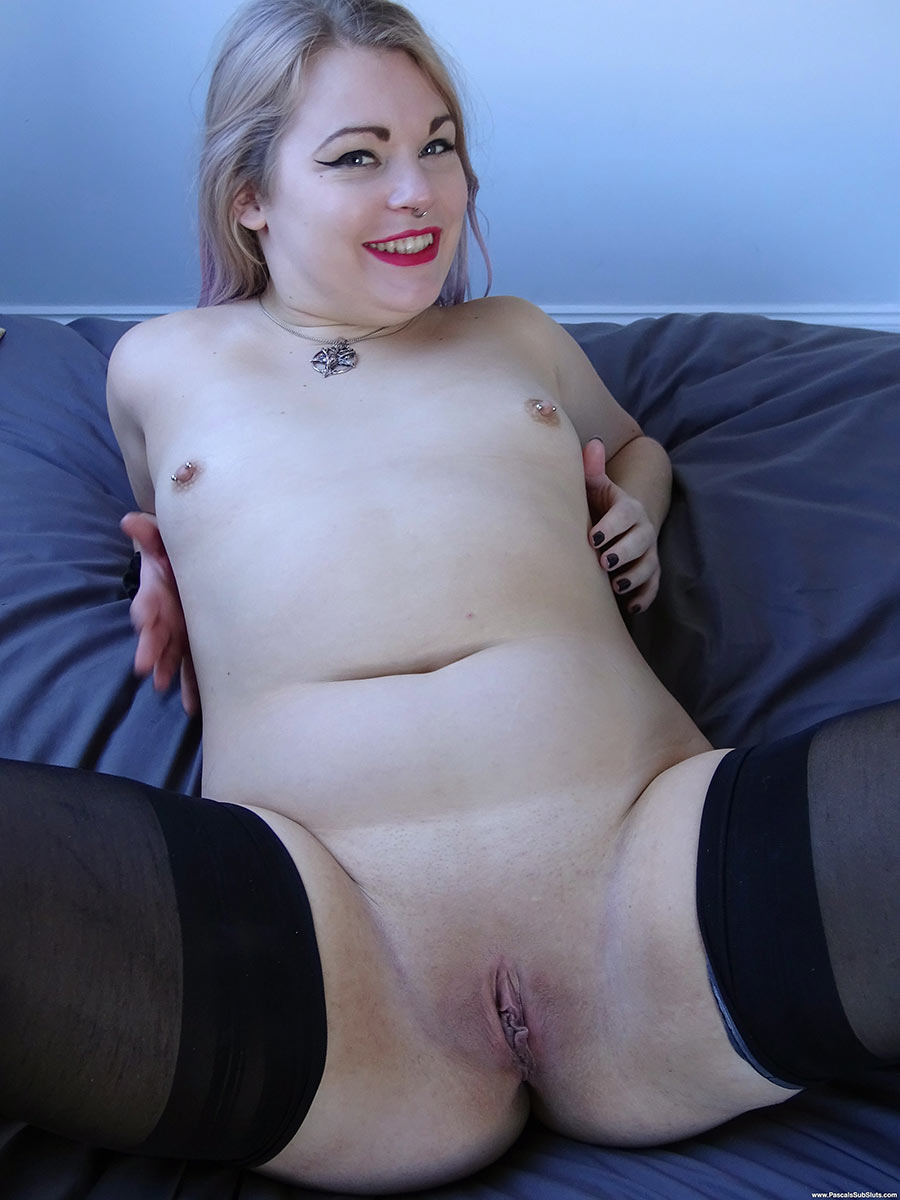 SubSlut Violet Vulgarity: Fuck whichever hole you want...